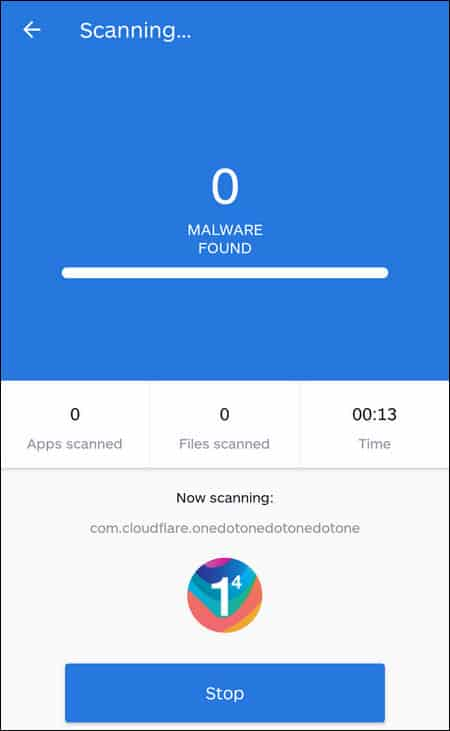 Malwarebytes Android app