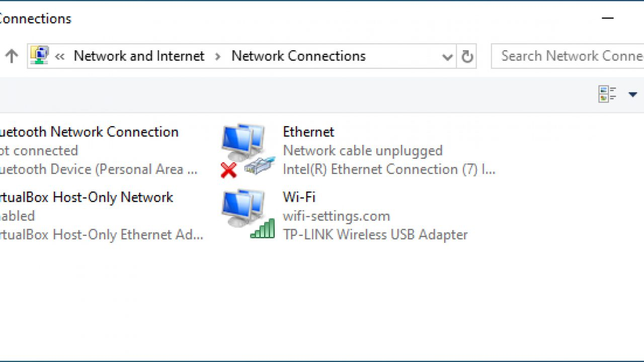 5 Ways to Open Network Connections from CMD and Windows 10 GUI • Wi-Fi  Settings